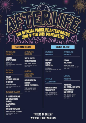 Parklife Announces Afterlife After Party Series