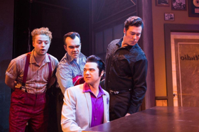 BWW Review: The Revolution of Rock n' Roll: MILLION DOLLAR QUARTET Ignites MSMT Stage