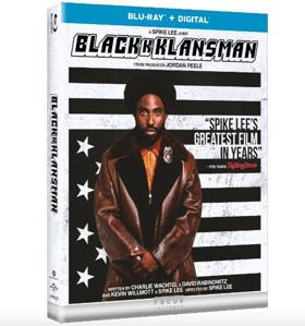 BLACKkKLANSMAN to be Released on Digital, 4K Ultra HD, Blu-ray & DVD