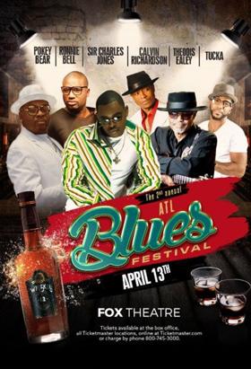 2nd Annual Atlanta Blues Festival Comes To The Fox Theatre 4/13