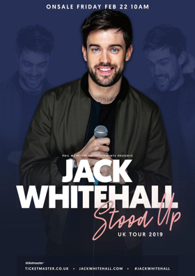 Jack Whitehall Adds Dates To Forthcoming Tour