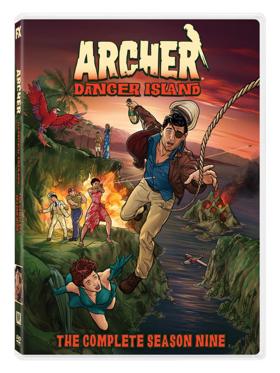 ARCHER: DANGER ISLAND to Arrive on DVD April 2