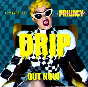 Cardi B Surprises Fans With The Release Of New Single Drip Available Now