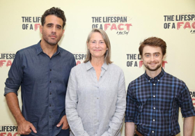 True or False? Meet the Cast of THE LIFESPAN OF A FACT- Now in Previews!