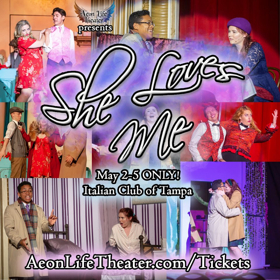 BWW Review: Aeon Life Theater Presents SHE LOVES ME at the Italian Club in Ybor City