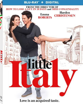 Emma Roberts and Hayden Christensen Star in LITTLE ITALY Coming to Blu-ray and Digital