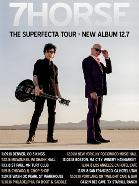 7Horse Announce The 'Superfecta Tour'