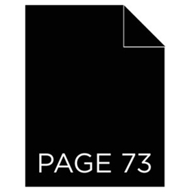 Page 73 Announces Readings of John J. Caswell, Jr.'s CREAM!