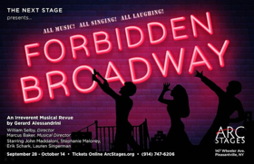 Arc Stages Presents FORBIDDEN BROADWAY