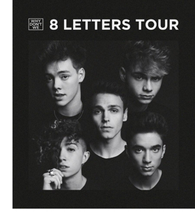 Why Don't We Brings 8 Letters Tour To Mohegan Sun Arena