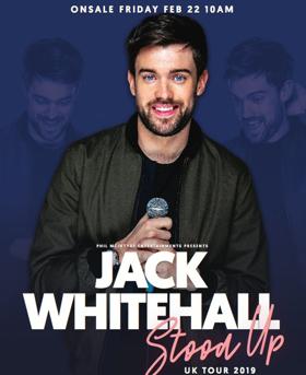 Jack Whitehall Adds Extra Dates To UK Tour