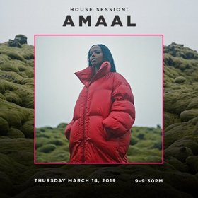 Amaal to Perform Intimate Show At Soho House Toronto