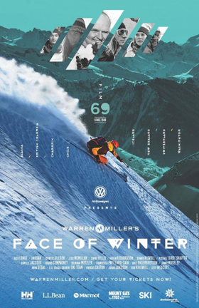 Warren Miller's FACE OF WINTER Comes to the WYO
