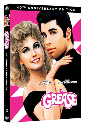 Paramount Home Entertainment to Release Remastered GREASE 40th Anniversary on Blu-Ray, DVD & 4K Ultra HD April 24
