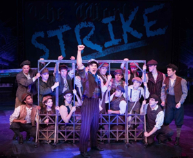 BWW Review: Chanhassen Dinner Theatre's Summer Blockbuster NEWSIES is a Big, Bold, Energetic, Rousing Regional Premiere