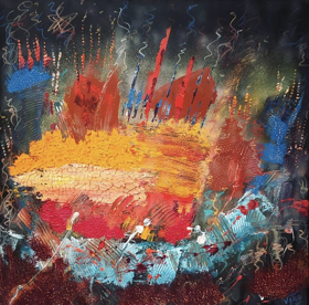 Vikash Jha To Display Recent Works of Abstract Expressionism in Clio Art Fair 2019