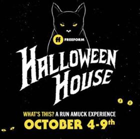 Freeform's Halloween House Experience Celebrates '31 Nights Of Halloween'