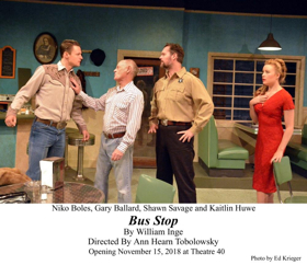BWW Review: A Remote Kansas BUS STOP Takes Center Stage at Theatre 40
