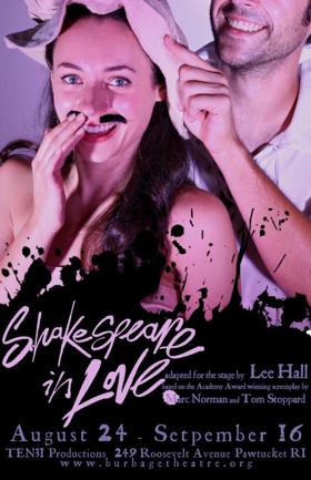 Burbage Theatre Company Presents SHAKESPEARE IN LOVE
