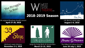 BWW Interview: THE STRUGGLE IS REAL Opens West Side Theatre Company's 2018-19 Season