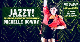 Michelle Dowdy Brings A Jazzy Night of Broadway to the Laurie Beechman