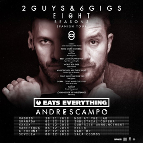 Eats Everything & Andres Campo to Head Out on EI8HT REASONS Tour