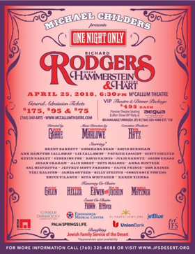 Prince, Gaines, Burnham, Callaway. and More Join Celebration of Rodgers, Hammerstein, & Hart