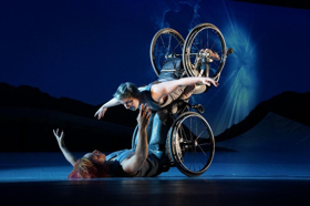 Disability Arts Innovators Alice Sheppard/Kinetic Light Premiere DESCENT At New York Live Arts