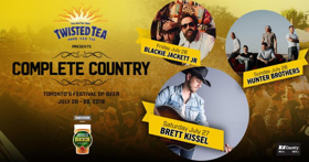 Toronto's Festival of Beer Introduces New Complete Country Stage
