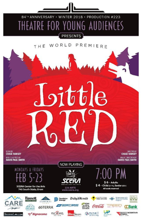Theatre for Young Audiences: LITTLE RED to Have World Premiere at SCERA