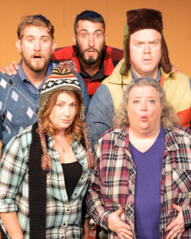 Hill Country Community Theatre Presents DON'T HUG ME I'M PREGNANT
