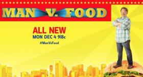Casey Webb Returns for Second Season of Travel Channel's MAN V. FOOD, 12/4