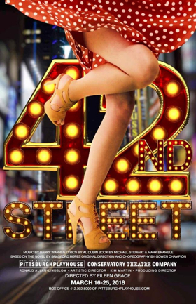Point Park University's Conservatory Theatre Company Presents 42ND STREET