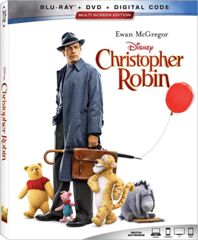 Disney's CHRISTOPHER ROBIN Comes Home on Digital and Blu-ray Today