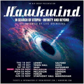 Arthur Brown Joins As Vocalist On Hawkwind's UK Tour, Starts 10/18