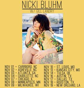 Nicki Bluhm Announces November U.S. Tour