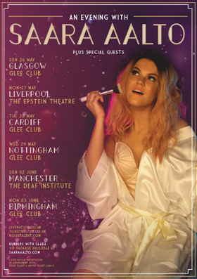 Dancing On Ice Star Saara Aalto Will Embark on UK Tour