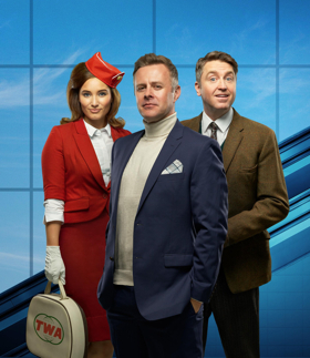 Tom Lister And Daniel Casey Star in UK Tour of BOEING-BOEING