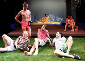 BWW Review: LOVE! VALOUR! COMPASSION! Captures the Zeitgeist