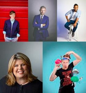 Jason Byrne, Nazeem Hussain, Deanne Smith, Des Bishop and Urzila Carlson Return to Australia's Comedy Festival Scene