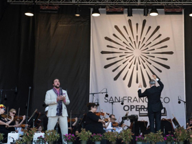 San Francisco Opera Celebrates Opening Of 96th Season With  Free Opera In The Park Concert