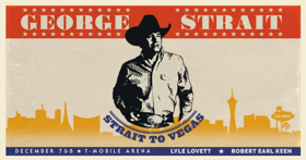 George Strait Returns to T-Mobile Arena in Las Vegas in February