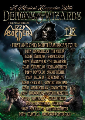 Demons & Wizards Announce North American Tour