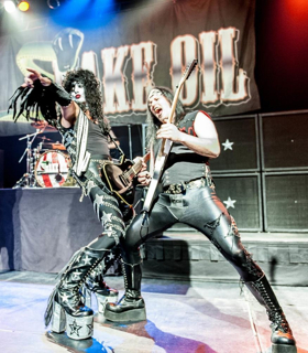 Snake Oil's Tribute to Rock's Biggest Stars Of The 80s Rocks The Mac 10/27