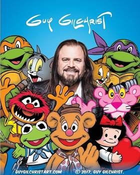 World-Renowned Comic Strip Illustrator & Author Guy Gilchrist Announces Exhibit at Mary Hong Gallery
