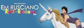 Em Rusciano Announces Brand New Australian Theatre Tour 'The Rage And Rainbows Tour'