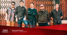 Town Mountain To Perform on the Opry Next Tuesday
