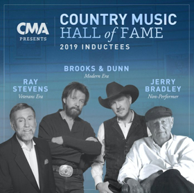 Jerry Bradley, Brooks & Dunn and Ray Stevens Inducted Into Country Music Hall of Fame