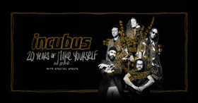 Incubus Announces 20th Anniversary Tour