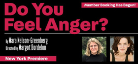 Vineyard Theater Announce Cast For DO YOU FEEL ANGER?